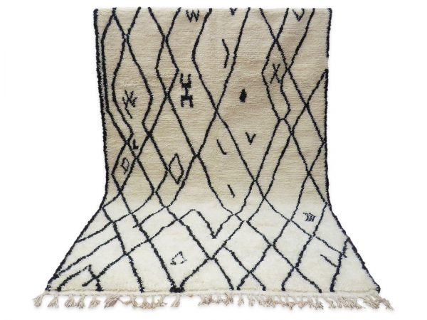 Beni Ourain Rug Bou651 1